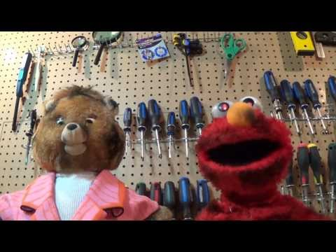 Undead Teddy Ruxpin and Elmo Thrift Shop