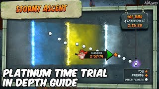 Wooah! Stormy Ascent is a beast of a level but I still managed a platinum relic on the time trial. As difficult as Stormy Ascent is, it's a fantastic piece of DLC for the Crash Bandicoot N. Sane Trilogy.In this video I show you my run and talk you through step by step the route to take to get that platinum relic! I hope you find this in depth guide helpful :)Please leave a rating and a comment on the video to let me know what you thought and share and subscribe if you enjoyed it! ▽ MORE ALEXARCS HERE ▽► SUBSCRIBE HERE -- http://bit.ly/1z36r4K► TWITTER -- http://bit.ly/1MM4KQr► FACEBOOK -- http://on.fb.me/1NTGZ9m► TUMBLR --  http://bit.ly/2mwxhlX