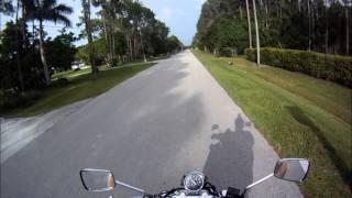 7. Kawasaki Eliminator 125 motorcycle ride - Welcome to my Street!