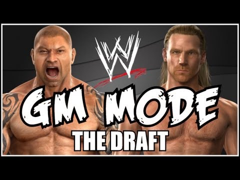 WWE GM Mode - THE DRAFT! Raw Or Smackdown? (Episode 1)