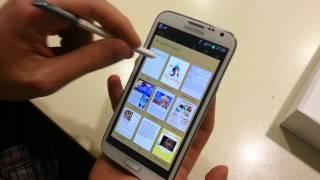 Samsung Galaxy Note 2 İncelemesi (TÜRKÇE)