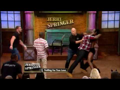 Fight Night: Husband VS Male Stripper (The Jerry Springer Show) (видео)