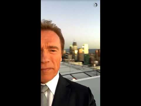 Arnold Schwarzenegger Just Posted The Best Snapchat Ever