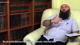 Nëse një vajzë dhe djalë duan të martohen por nuk kan kushte - Hoxhë Bekir Halimi