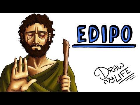 EL MITO DE EDIPO  Draw My Life Edipo Rey de Sófocles