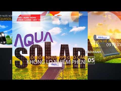 Máy Nước Nóng Năng Lượng Mặt Trời Aquasolar