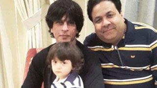 Shahrukh Khan Celebrates New Year 2015 With Son Abram Khan