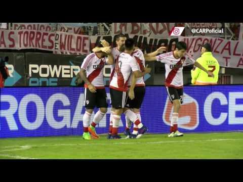 Primer gol de Alario vs. Quilmes