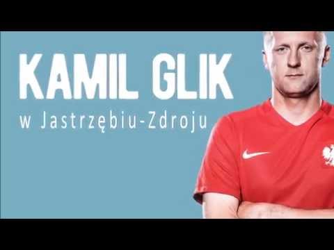 Kamil Glik powitany przez kibiców
