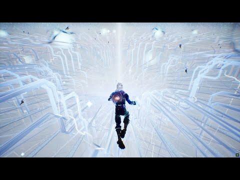 INSANE Fortnite Cube Live Event in the Galaxy Skin