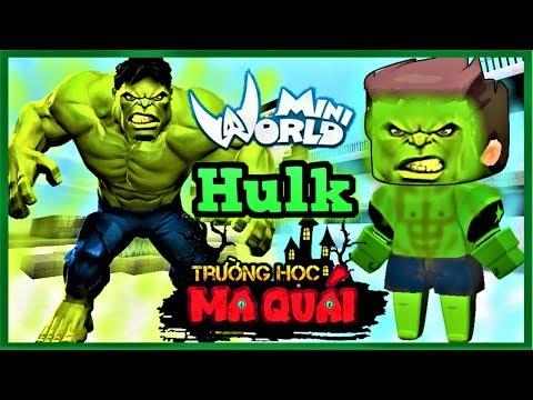 TRƯỜNG HỌC MA QUÁI: -tập 8- 1 ngày làm Hulk   Thử thách tiêu diệt tên giang hồ bắt nạt học sinh - Thời lượng: 11 phút.