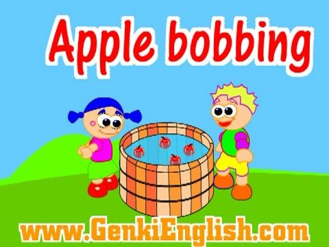 Halloween Apple Bobbing Song GenkiEnglish.com