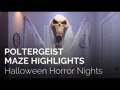Poltergeist at Halloween Horror Nights 2018 Hollywood
