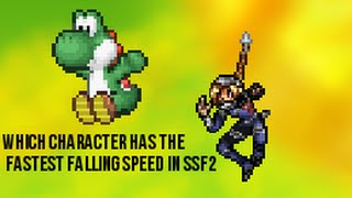 Who has the fastest falling speed in SSF2?