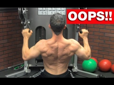 Back Workout Blunders – 5 Back Workout Mistakes to AVOID!