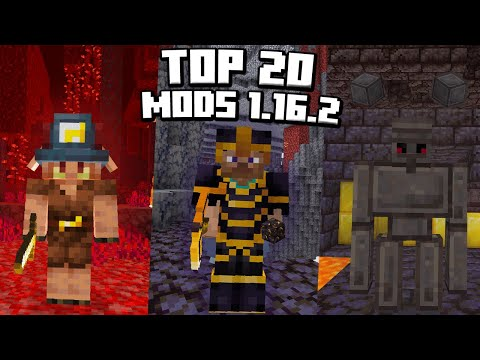 ✔️ TOP 20 MODS para MINECRAFT 1.16.2