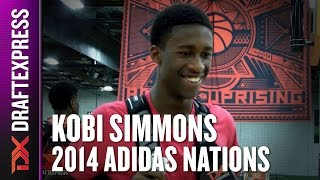 2014 Kobi Simmons Interview - DraftExpress - Adidas Nations