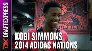 2014 Kobi Simmons Interview - DraftExpress - Adidas Nations