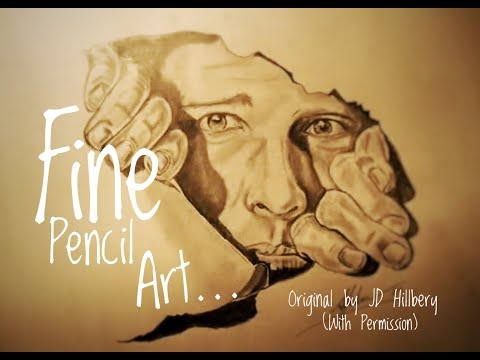 fantastic - WATCH THIS! Pencil Illusion by Adam Johnston of an original drawing by JD Hillberry. .IF YOU LIKE PENCIL DRAWINGS WATCH THIS! For more from JD Hillberry plea...
