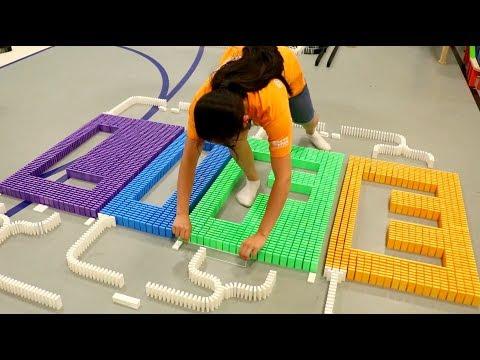 Types of Domino Builders 1!