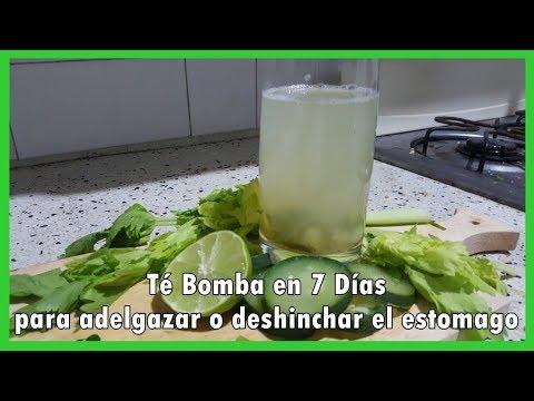 Dietas para adelgazar - Té Bomba en 7 Días para adelgazar o deshinchar el estomago