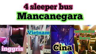 Inilah 4 sleeper bus asal mancanegara yang perlu kita ketahui.