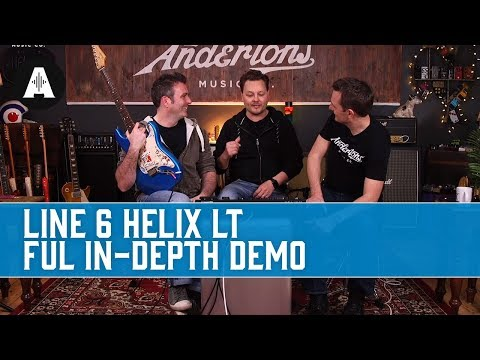 Line6 Helix LT - Full Depth Demo