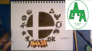 [video] Me Drawing All Character Icons From SSB64