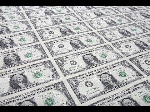 RARE UNCUT SHEET OF $1 BILLS!!!