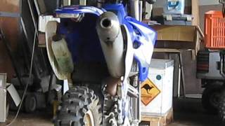 7. WR250F Stock Exhaust vs Barrett Exhaust