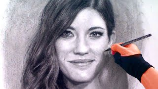 Debra (dexter) / Jennifer Carpenter Charcoal Portrait