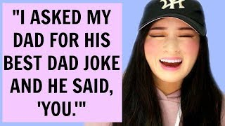 Subscribe and Help Me Hit 2,400,000 little cuties! ^^Watch Me React To Dad Jokes That Are So Bad They're Actually GoodKyuties! Can we get this video to 5K LIKES?! I love you! ^_^♡ OPEN ♡All rights go to the content creators, if there are any problems, private message me via YouTube and we can solve it together! ^^♡ Social Media  ♡ ►Instagram https://www.instagram.com/kyutiee_/ ►Twitter  https://twitter.com/KyutieOfficial ►Snapchat https://www.snapchat.com/add/kyuutie ►Facebook https://www.facebook.com/KyutieOfficial♡ SEND ME STUFF! ♡► PO BOX 2350 BERALA NSW 2141 AUSTRALIA ♡ VLOG CHANNEL ♡ ►https://www.youtube.com/channel/UCFWBLDCX-hU3EVWrrKfnUhw ---------------------------- ♡ Subscribe To My Beauty Channel ♡ ►https://www.youtube.com/channel/UCGZl9CH01SXA352prkYNO-wFair Use: For educational purposes and criticism.