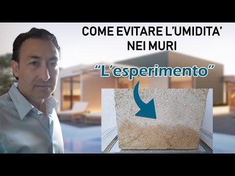 Soluzione umidità di risalita nei muri: l'esperimento