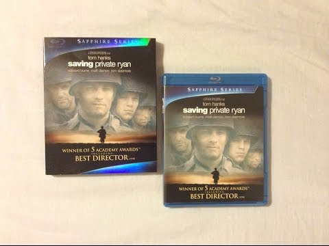 Saving Private Ryan (1998) - Blu Ray Review and Unboxing