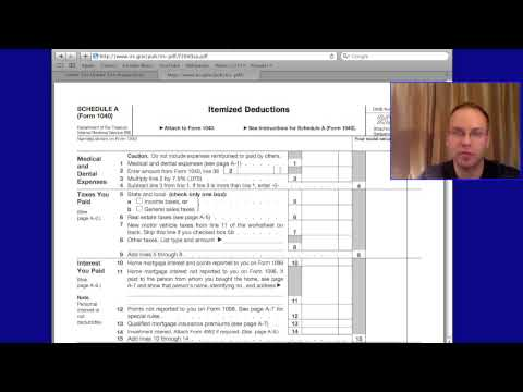 How do Tax Deductions Work for 2011, 2012