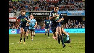 Waratahs v Blues Rd.12 2018 Super Rugby Video Highlights   Super Rugby Video Highlights