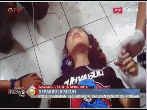 Download Video Puluhan Aremania Sesak Nafas Pasca Kericuhan Laga Arema Vs Persib - BIP 16/04