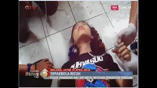 Video Puluhan Aremania Sesak Nafas Pasca Kericuhan Laga Arema vs Persib - BIP 16/04 MP3, 3GP, MP4, WEBM, AVI, FLV April 2018