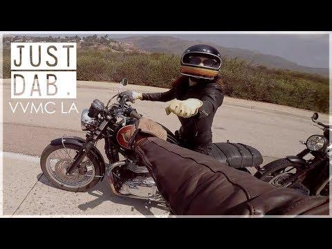 Venice Vintage Motorcycle Ride VVMC Triumph Bonneville T120 🏍   Moto Vlog