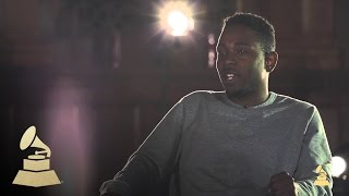 Kendrick Lamar - Seeing Dr. Dre And Tupac As A Kid | GRAMMYs