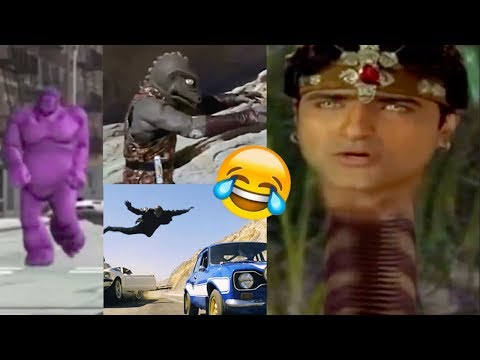 Bollywood Vs Hollywood🤣!! Funniest Hollywood Action Scenes