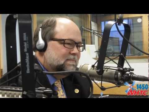 State Senator Arlan Meekhof (R-West Olive) joined Juke Van Oss on WHTC&#39;s &quot;Talk of the Town&quot; program for his monthly visit on Apr. 8, 2013. In this segment, he talks about the &quot;Freedom to Work&quot; act that he was a sponsor for, along with reforming Michigan&#39;s catastrophic auto accident law and his own future political plans.