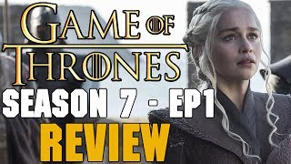 Thrones Amino:iOS: http://apple.co/2uPUh3JAndroid: http://bit.ly/2sLtrgzFollow Me: RedTeamReview▬▬ Video Description ▬▬Game of Thrones Season 7 is HERE. FINALLY and it was pretty good. For a premiere episode it did deliver on many fronts. Lets find out more in today's video. Official Synopsis: Jon organizes the defense of the North. Cersei tries to even the odds. Daenerys comes home. #Winterishere▬▬ Support My Channel ▬▬● Patreon: https://www.patreon.com/redteamreview●T-Shirts: https://shop.spreadshirt.com/RedTeamReview● P.O. Box Coming Soon▬▬ Follow Us on Social Media! ▬▬● Facebook: https://www.facebook.com/redteamreview● Twitter: https://twitter.com/RedTeamReview● Instagram: https://www.instagram.com/redteamreview/● Tumblr: http://redteamreview.tumblr.com/● Snapchat https://www.snapchat.com/add/redteamreview▬▬ Big Thanks to our Patrons! ▬▬❤Lady Milk Maid❤Marilyn B❤Katherine D.R❤Julian M❤Lauri K❤kingmckay❤Jabzkillem❤ Pamela B❤universalpotentate❤Rob from Nashville❤Sophie❤Bittersteel❤Napoleon Dagalea❤Robert M▬▬ Check Out These Videos! ▬▬►Star Wars Aftermath Top 3 - https://youtu.be/V9ZtULU7KHU►Red Vs Blue Season 12 Review - http://youtu.be/DQ37PBgYxqc►Destiny Review - http://youtu.be/xNSNtpikkPk►GoT Telltale Game Characters - http://youtu.be/43lTlNjbbeE►Marvel's Jessica Jones Review - https://youtu.be/VF9WlkrmNEg►Game of Thrones: An Epic or History Book? Feat - History Buffs  - https://youtu.be/0hmXyP9Vmm4▬▬ Partners, Friends & Affiliates ▬▬★http://polar-biscuit.tumblr.com/tagged/polarbiscuit★https://www.youtube.com/user/theissuesguystuff★https://www.youtube.com/user/FeroxStudios★https://www.youtube.com/user/BrimRun★http://tiny.cc/historybuffs★http://mannamedgeorge.deviantart.com/▬▬ Information ▬▬Game of Thrones is an American fantasy drama television series created for HBO by David Benioff and D. B. Weiss. Based on the fantasy novel series, A Song of Ice and Fire by George R.R. Martin. A Game of Thrones is one of the most successful television series to ever made and continues to captivate audiences all over the world. The series is set on the fictional continents of Westeros and Essos, and interweaves several plot lines with a large ensemble cast. The first narrative arc follows a civil war among several noble houses for the Iron Throne of the Seven Kingdoms; the second covers the attempts to reclaim the throne by the exiled last scion of the realm's deposed ruling dynasty; the third chronicles the rising threat of the impending winter and the legendary creatures and fierce peoples of the North. Game of Thrones Episode Review. Game of Thrones Season 5. Dance of The Dragons. Stannis Baratheon and Melisandre, Shireen, Lady Stoneheart, Sansa Stark and Daenerys Targaryen, Jon Snow, Olly, Samwell, For The Watch, stream, HBO. reaction. dies hodor hold the door white walkers origins children of the forest Game of Thrones Season 7 Trailer, Game of Thrones Season 7 Trailer Review, Game of Thrones Season 7 Trailer Reaction, Game of Thrones Season 7 Trailer Breakdown, Game of Thrones Season 7 Trailer Analysis, Game of Thrones Season 7 Trailer Explained, Game of Thrones Season 7 Teaser Game of Thrones Season 7 Episode 1 Game of Thrones Season 7 Episode 2 Game of Thrones Season 7 Episode 3 Game of Thrones Season 7 Episode 4 Preview Breakdown stream Review 170716__WF01gameofthrones,