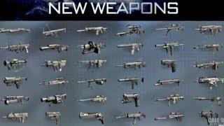 Call Of Duty: Ghosts: Récap' De Toutes Les Nouvelles Armes (COD GHOST New Guns)