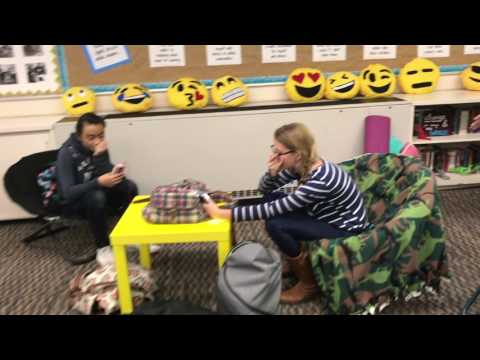 TSGA Student Council Mannequin Challenge (видео)