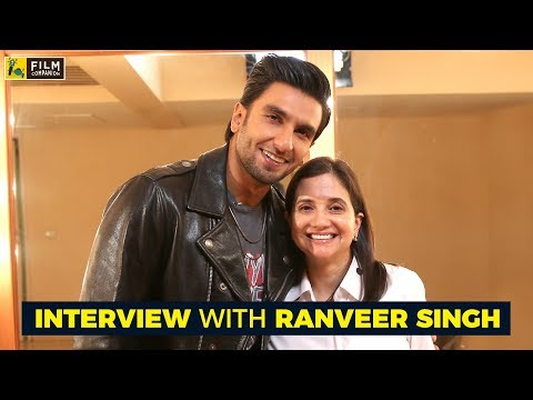 Interview with Ranveer Singh | Padmaavat | Anupama Chopra