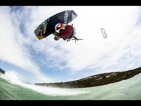 IN - Add some adventure to your day: http://win.gs/1aXUVRM Aaron Hadlow takes big air kiteboarding to the next level in a picturesque Swiss lake, where the winds rip through the gorgeous Swiss mountains...
