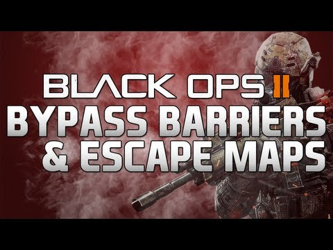 Black Ops II: Bypass Barriers & Escape Maps Glitch