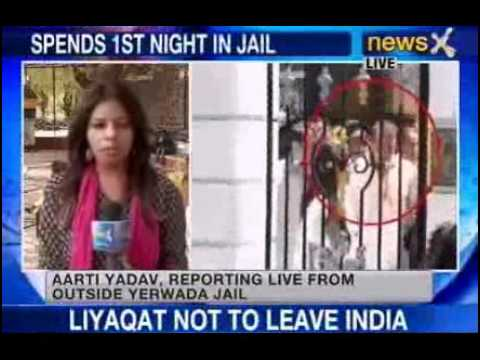 sanjay - NewsX: 1993 blasts convict and Bollywood star Sanjay Dutt spent an uneasy night at Arthur road jail in Mumbai last night, after he surrendered yesterday to undergo his remaining 42 month jail...