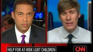 Dustin Lance Black interview on CNN